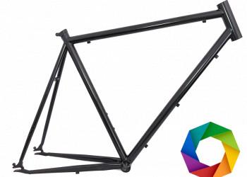 Rahmenset  (Stahlrahmen + Gabel) optional in Wunschfarbe