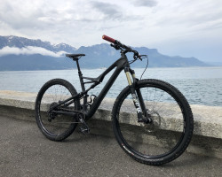 SPECIALIZED CAMBER FSR ELITE CARBON 29 BLK/CHAR M
