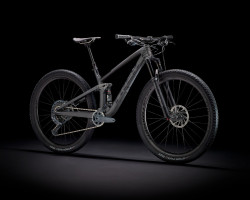 Trek Top Fuel 9.8 Gx L Matte Raw Carbonvoodoo Trek Black
