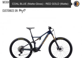 Orbea Rise M10 L en stock en bleu