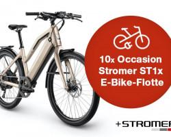 10 Stk. Stromer ST1x - Occasion - E-Flottenbike