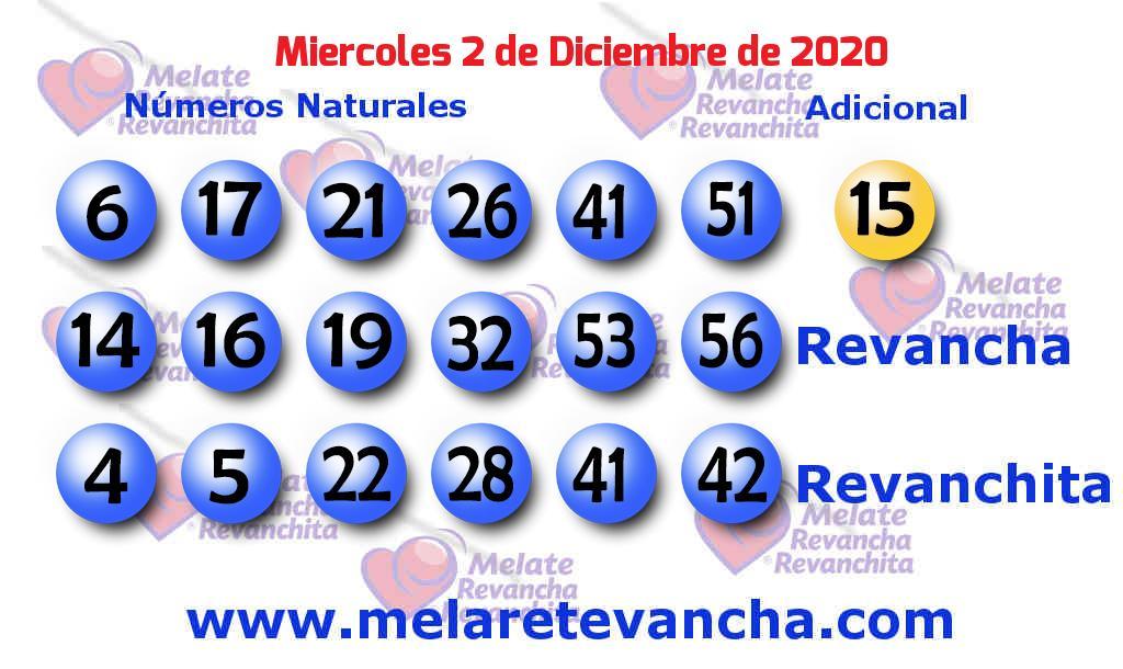 Melate del 2020-12-02