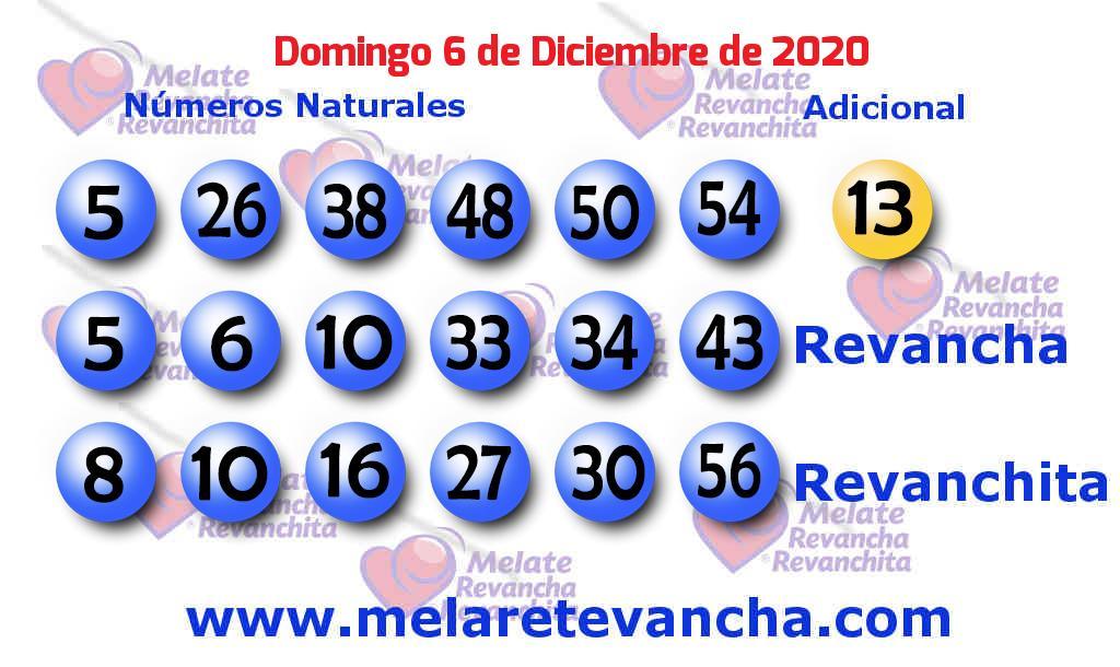 Melate del 2020-12-06