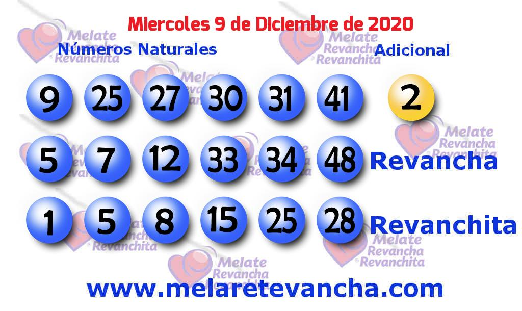 Melate del 2020-12-09