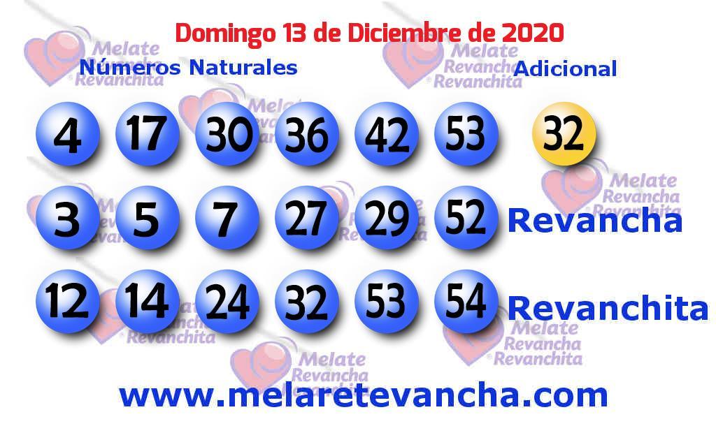 Melate del 2020-12-13