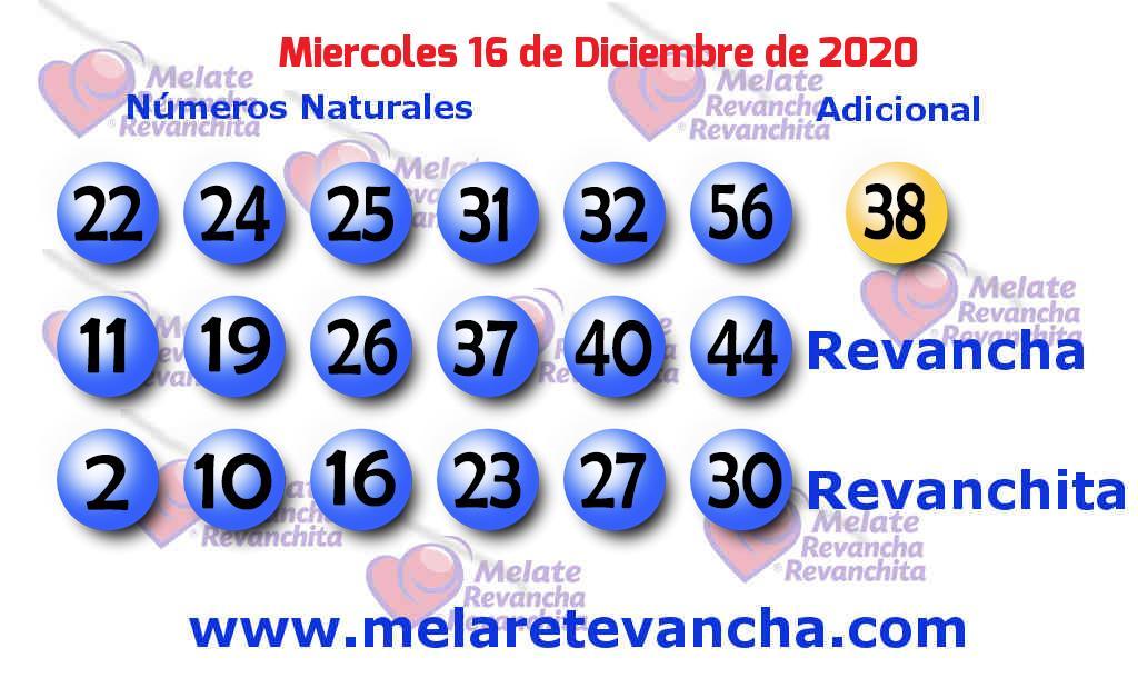Melate del 2020-12-16
