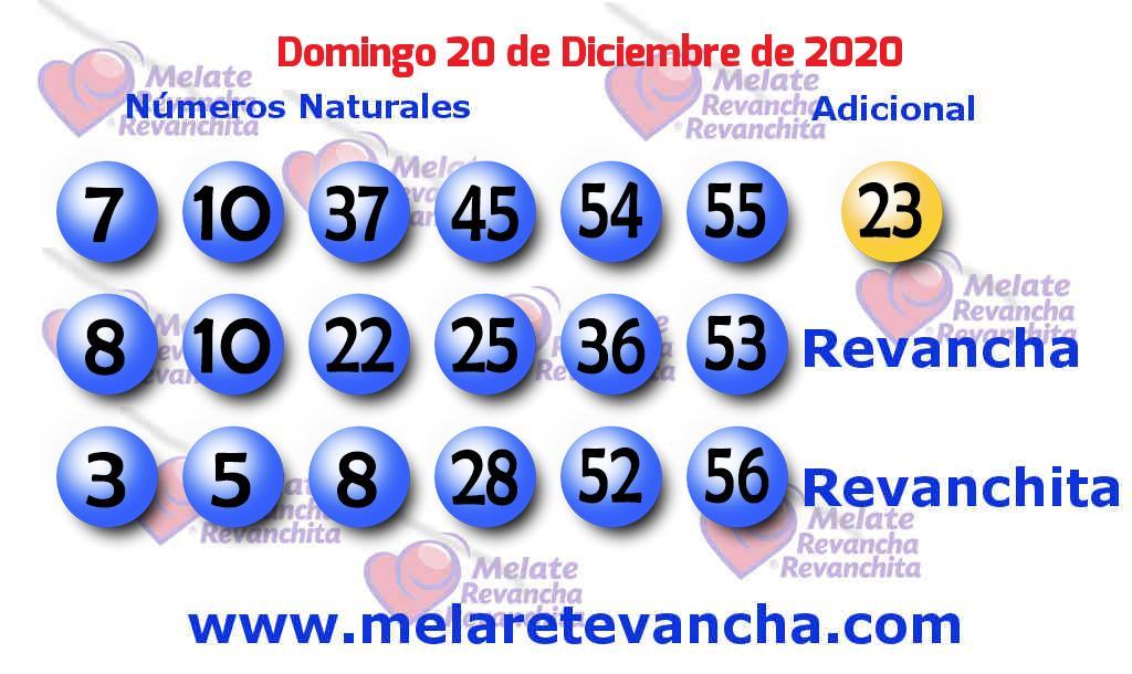 Melate del 2020-12-20