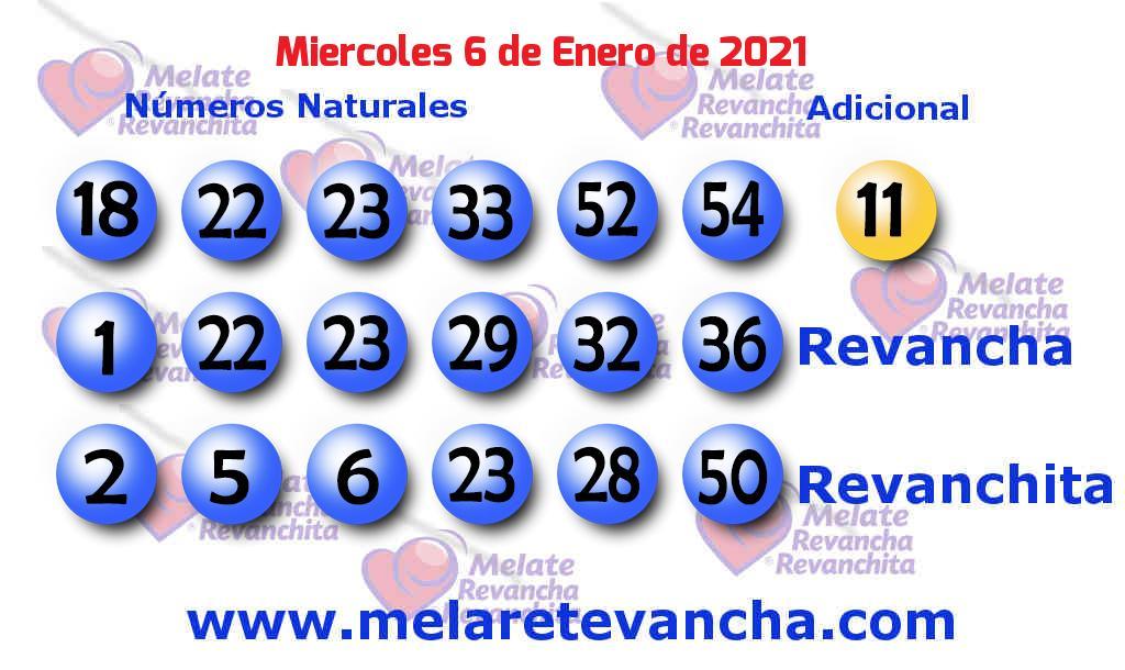 Melate del 2021-01-06