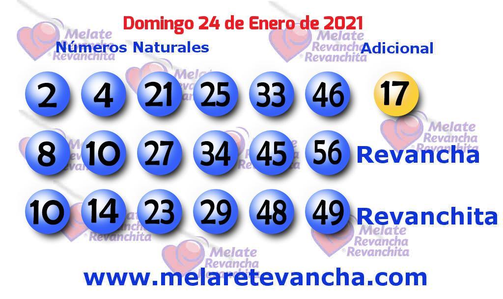 Melate del 2021-01-24