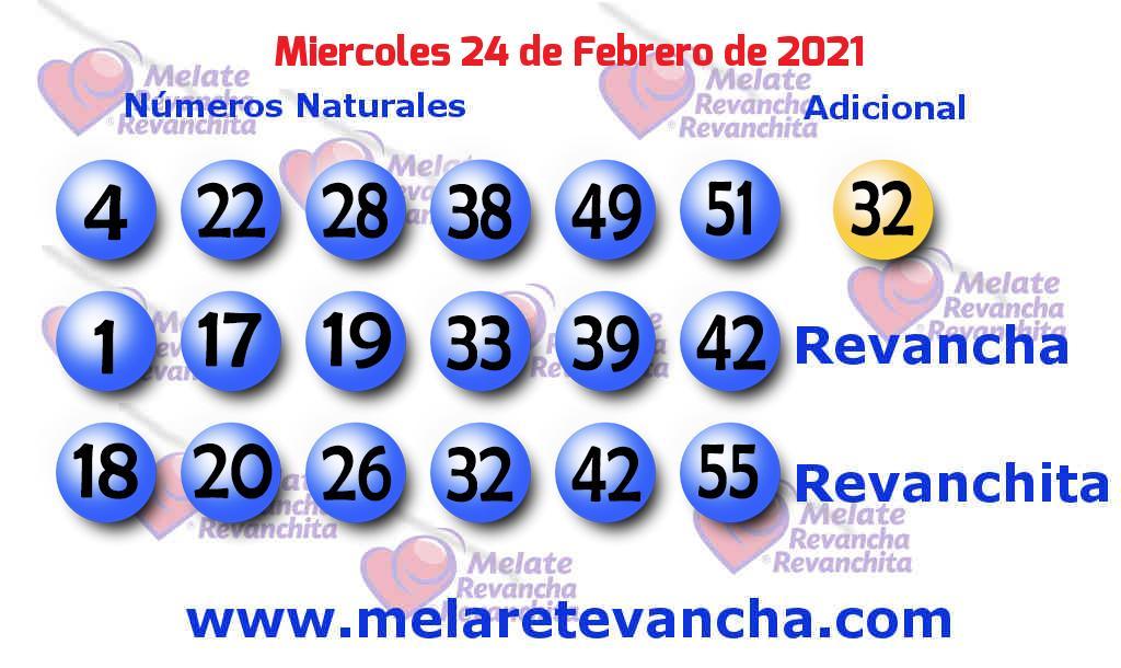 Melate del 2021-02-24
