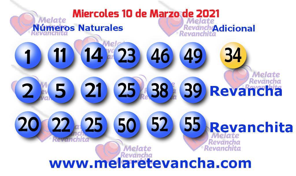 Melate del 2021-03-10