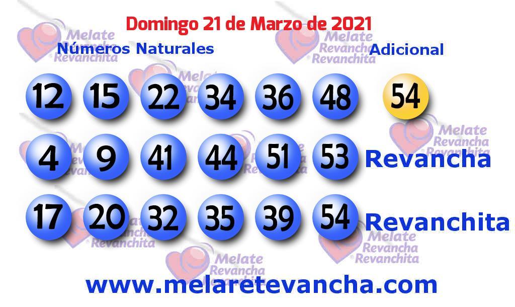 Melate del 2021-03-21