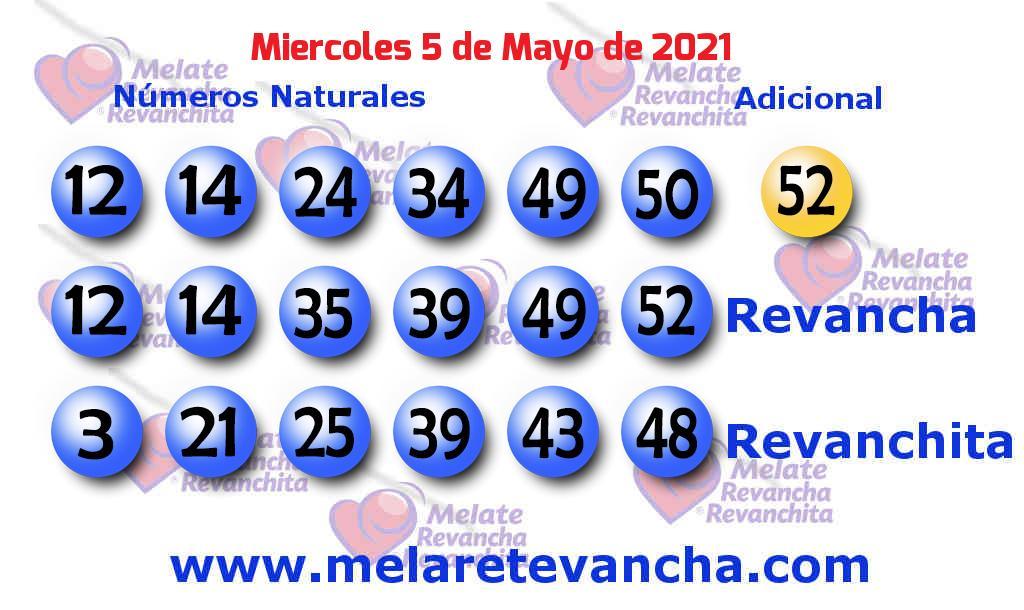 Melate del 2021-05-05