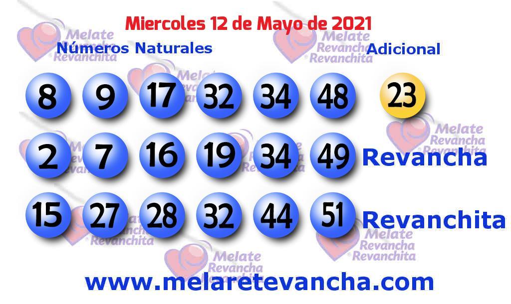 Melate del 2021-05-12