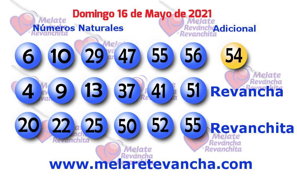 Melate del 2021-05-16