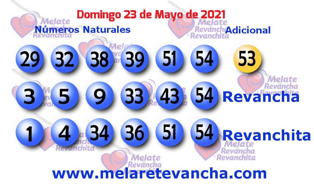 Melate del 2021-05-23