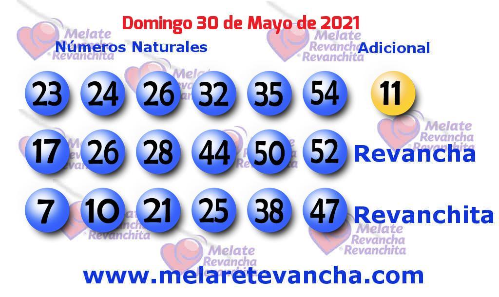 Melate del 2021-05-30