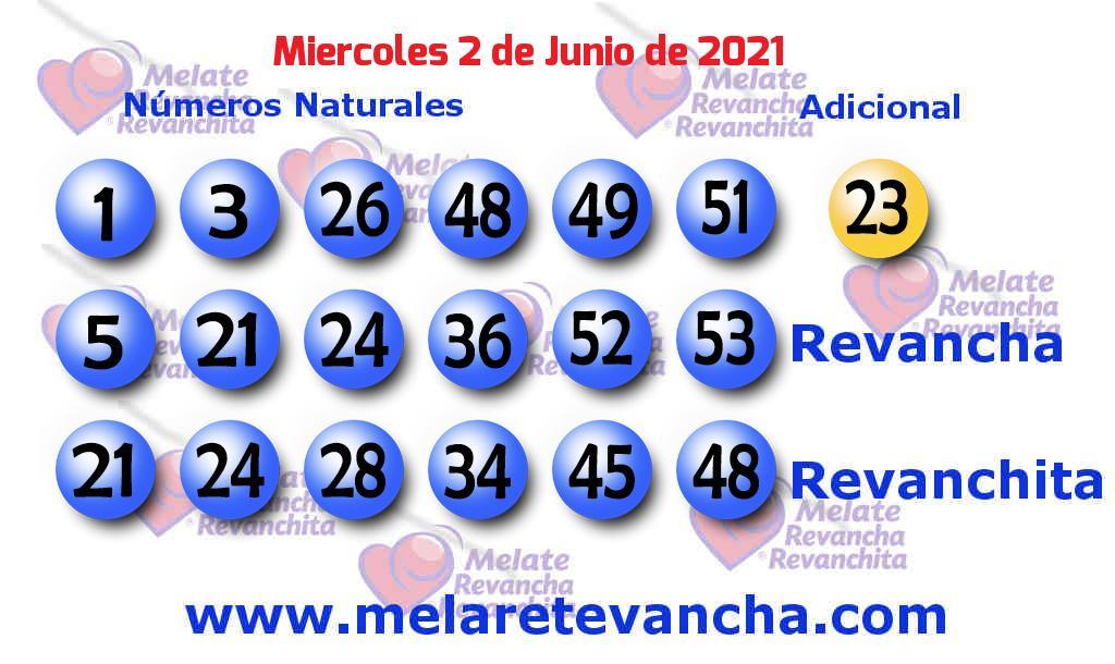 Melate del 2021-06-02
