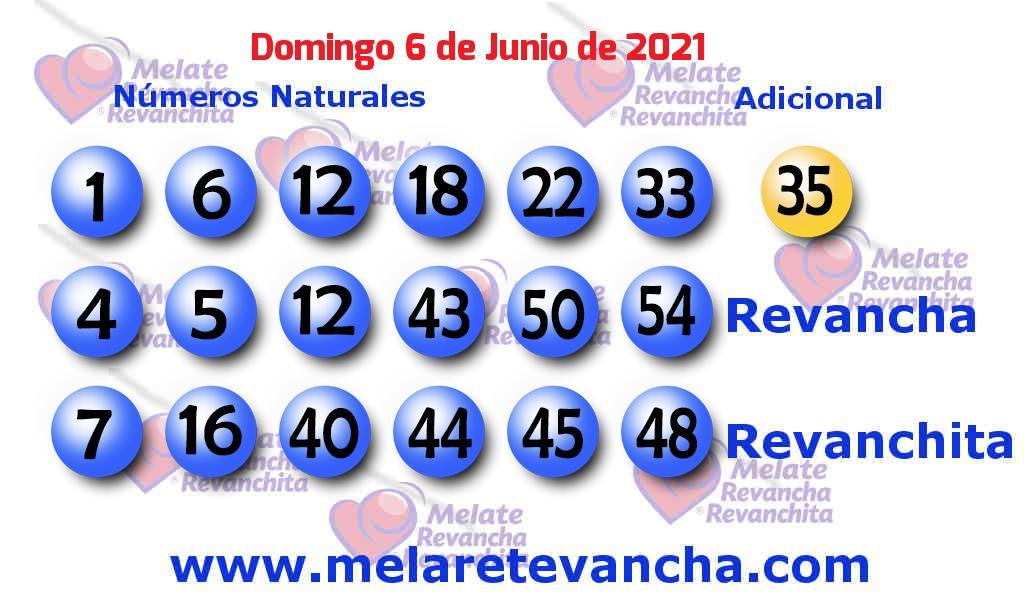 Melate del 2021-06-06