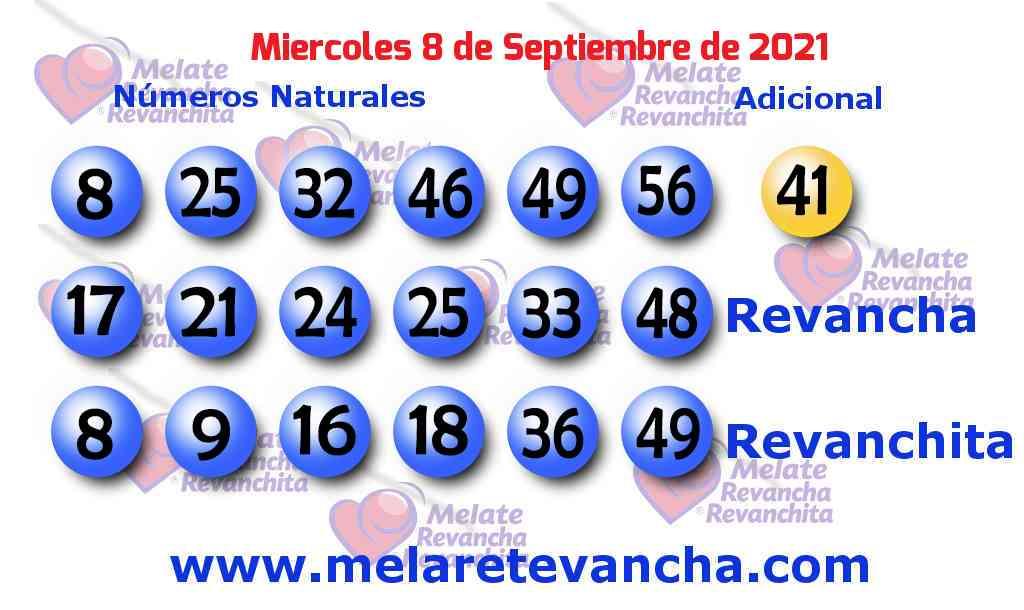 Melate del 2021-09-08