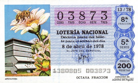 Décimo de Lotería 1978 / 13
