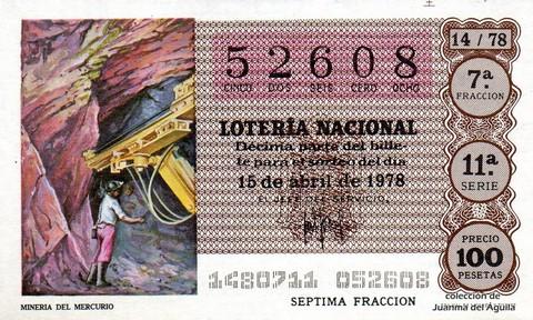 Décimo de Lotería 1978 / 14