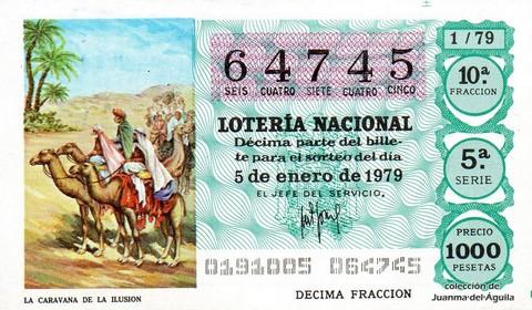 Décimo de Lotería 1979 / 1