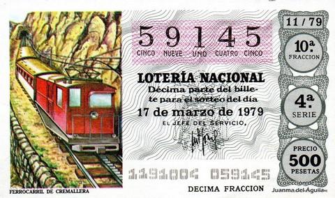 Décimo de Lotería 1979 / 11