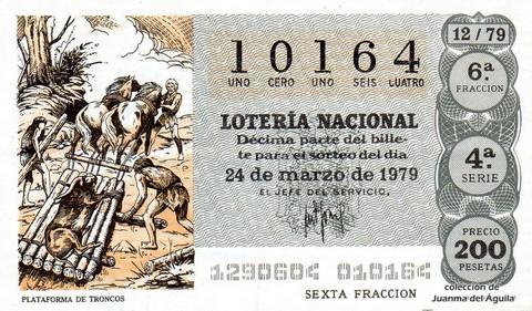 Décimo de Lotería 1979 / 12