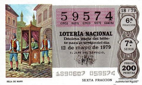 Décimo de Lotería 1979 / 18