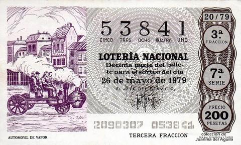 Décimo de Lotería 1979 / 20