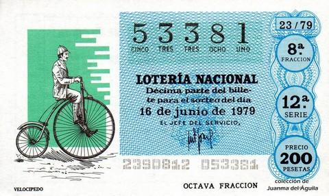 Décimo de Lotería 1979 / 23