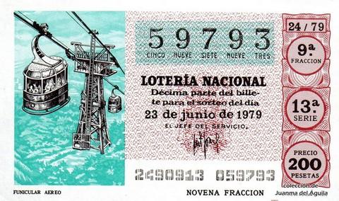 Décimo de Lotería 1979 / 24