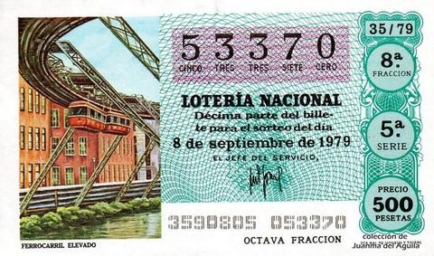 Décimo de Lotería 1979 / 35