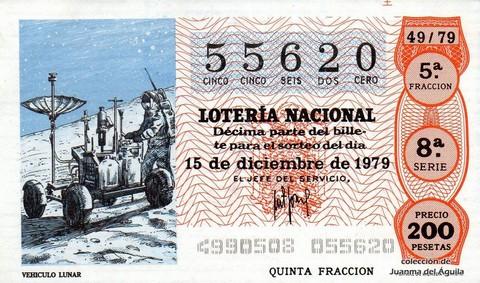 Décimo de Lotería 1979 / 49