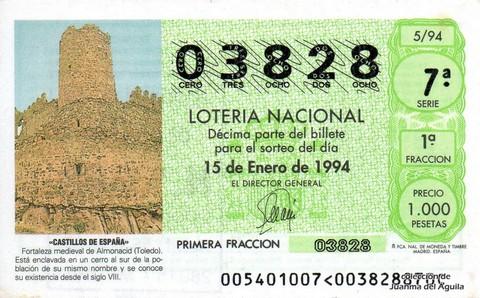 Décimo de Lotería 1994 / 5