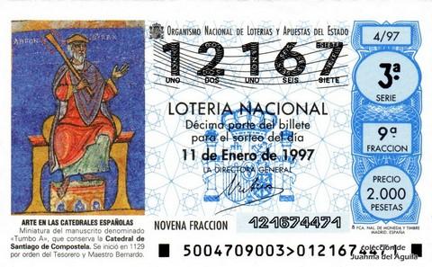 Décimo de Lotería 1997 / 4