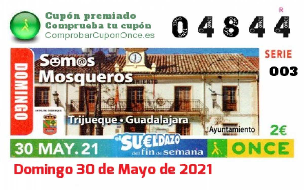 Sueldazo ONCE premiado el Domingo 30/5/2021