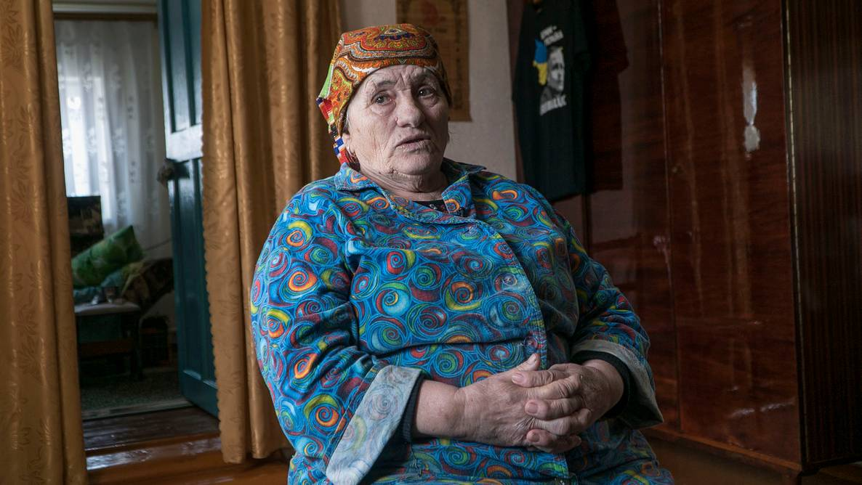 Мати політв'язня Володимира Балуха Наталя Балух, Серебрянка, АР Крим, 14 березня 2019 року