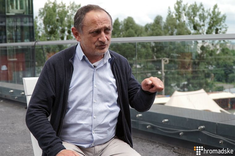Научный сотрудник Академического центра Бориса Немцова в Карловом университете Александр Морозов, Львов, 31 мая 2019 года