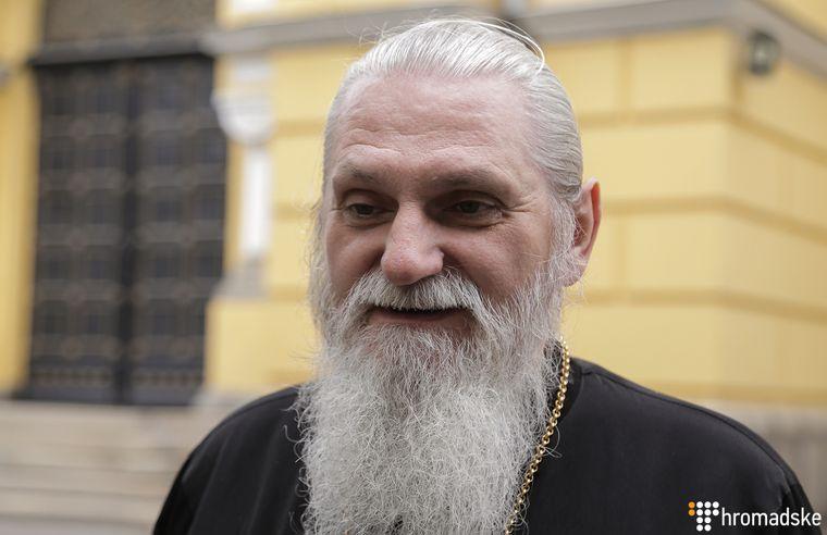 Новий настоятель Свято-Феодосіївського монастиря архімандрит Андрій (Маруцак), Київ, 27 червня 2019 року