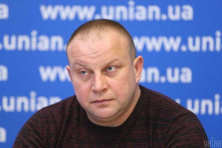 Олександр Гінгізов під час прес-конференції в Києві, 20 березня 2018 року