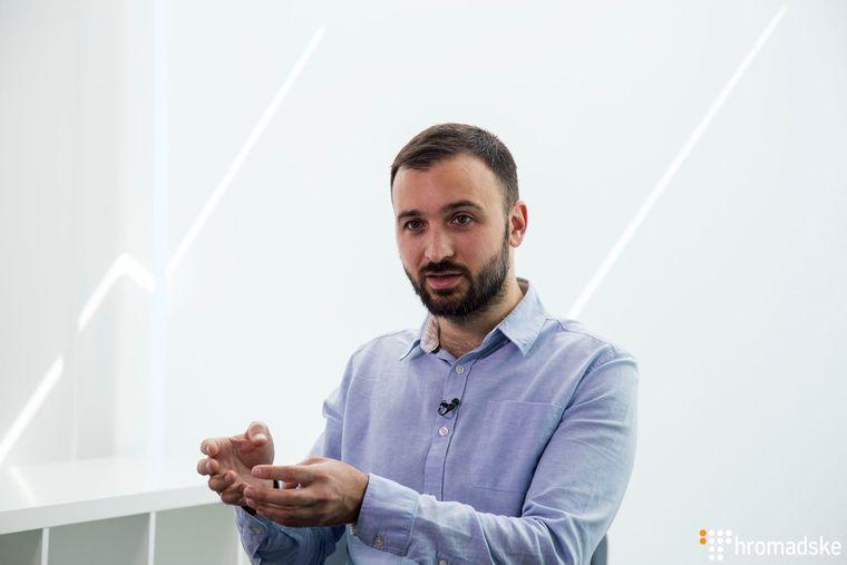 Автор та керівник сервісу Helsi, кандидат в народні депутати від партії «Слуга народу» Артем Михайлюк, Київ, 6 серпня 2019 року