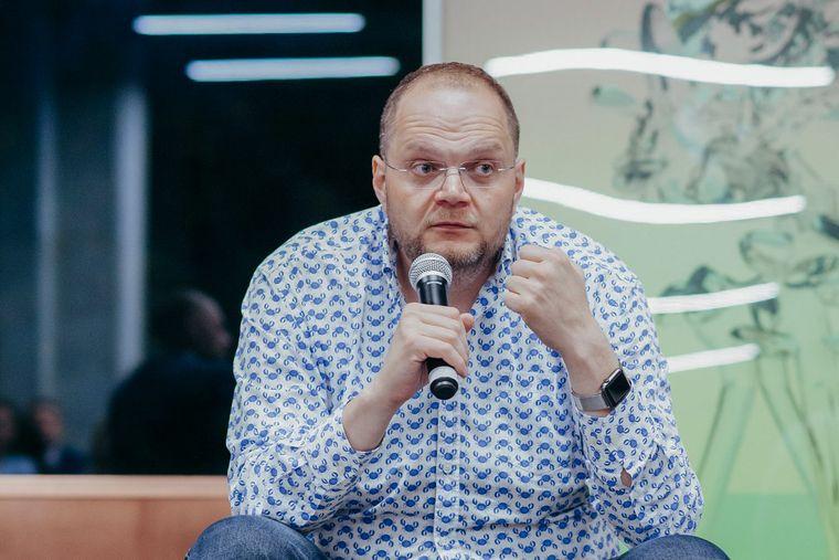 Радник президента Зеленського з питань гуманітарної політики Володимир Бородянський, Київ, 6 вересня 2018 року