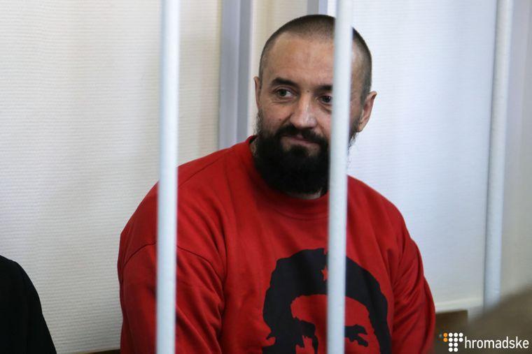 Андрій Оприско у Лефортівському суді Москви, Росія, 17 квітня 2019 року