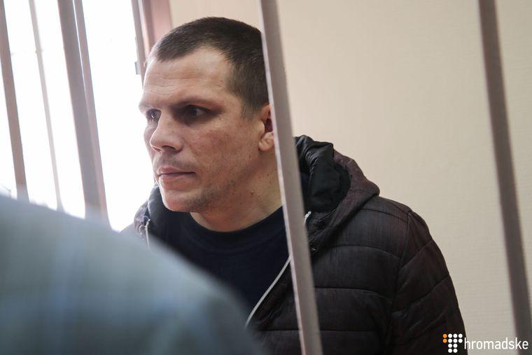 Михайло Власюк у Лефортівському суді Москви, Росія, 17 квітня 2019 року