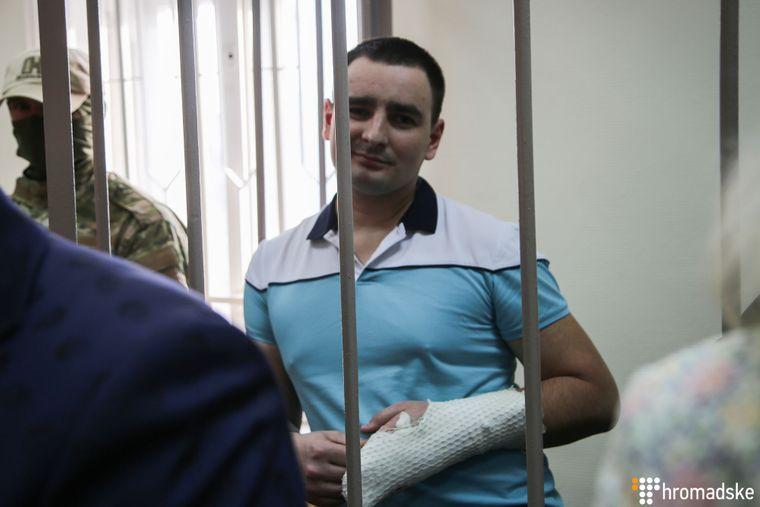Василь Сорока у Лефортівському суді Москви, Росія, 17 квітня 2019 року