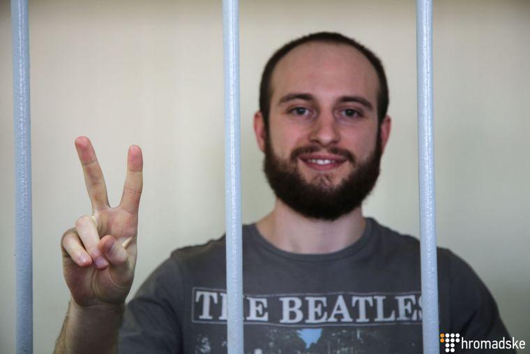 Владислав Костишин у Лефортівському суді Москви, Росія, 17 квітня 2019 року