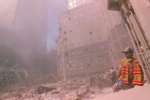 Вільям Родрігес в день теракту, 11 вересня 2001 року