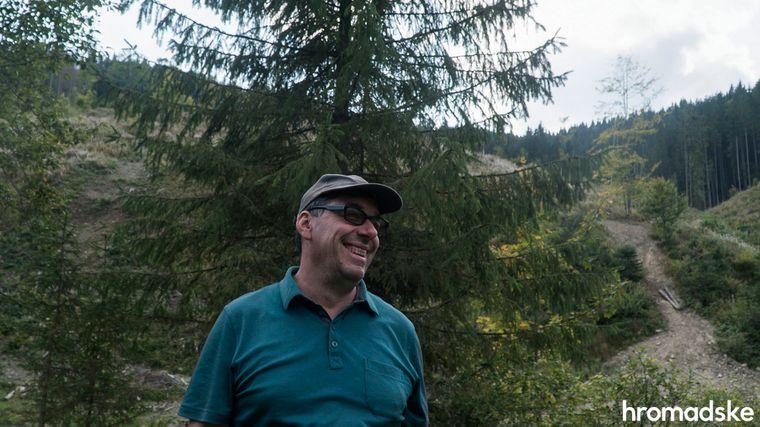 Співзасновник руху «Free Svydovets», який виступає проти розбудови на Свидовці великого лижного курорту, Орест Дель Соль, 12 вересня 2019 року